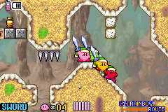 Kirby & the Amazing Mirror Screenthot 2